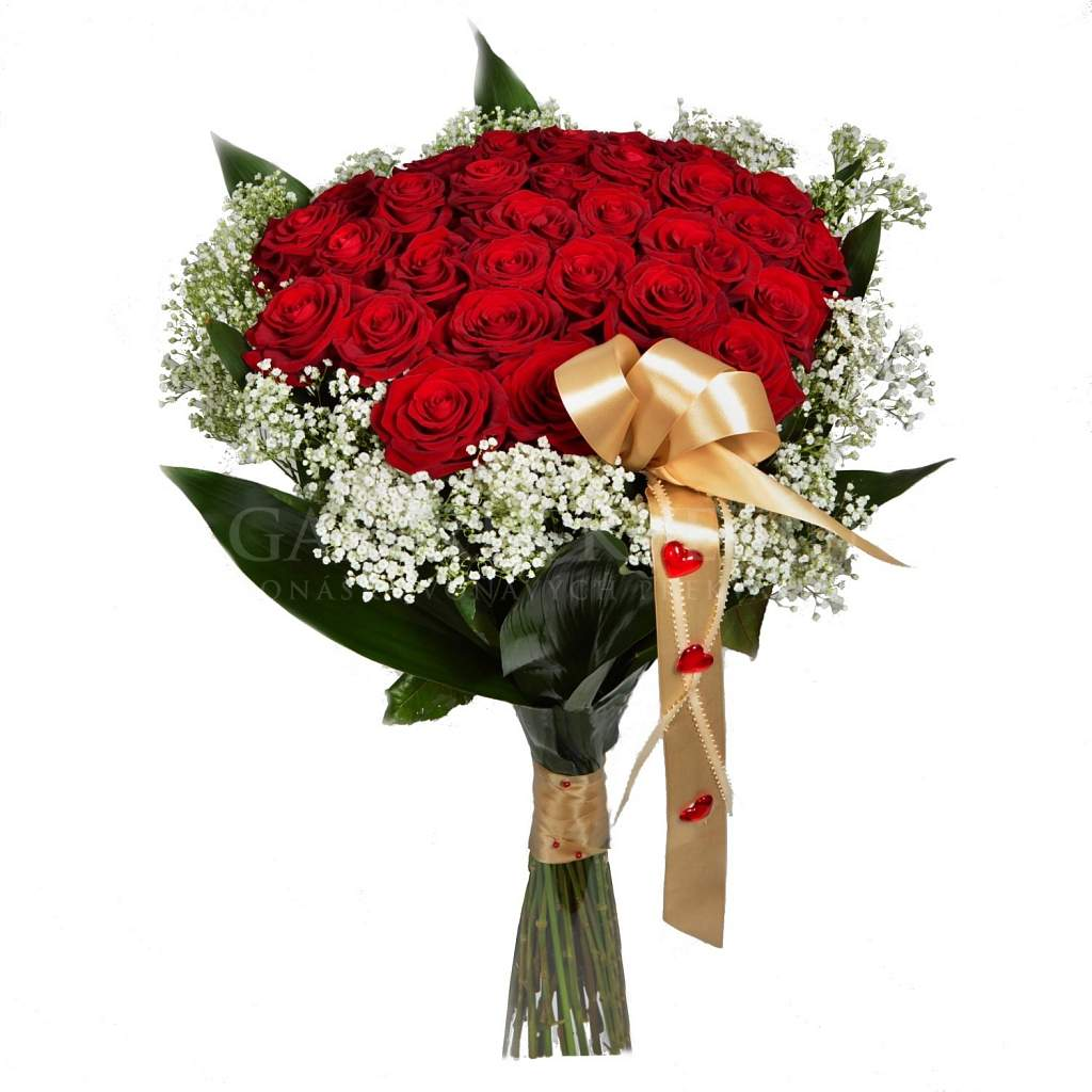 Bouquet Mysterious Love 50 | Flower Gallery