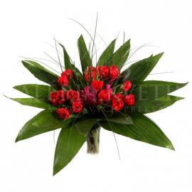 Bouquet Fiery Red