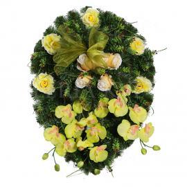 Mourning wreath Vyronená slza