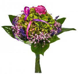 Bouquet Rozkošná hortenzia