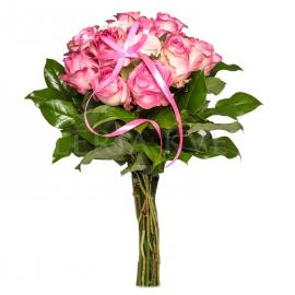 Bouquet of Roses Pink dozen