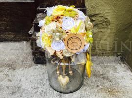 Fabric bouquet Slnečný lúč