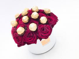 Flower Box SWEET FERRERO GRAND