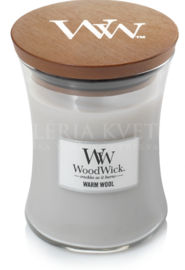 Candle Woodwick® Medium Jar Warm Wool