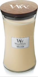 Candle Woodwick® Large Jar Vanilla Bean