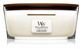 Candle Woodwick® Heartwick Island Coconut