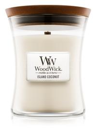 Candle Woodwick® Medium Jar Island Coconut