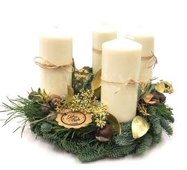 Advent wreath Merry Christmas ❤