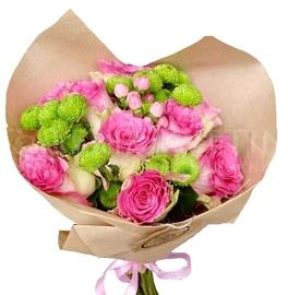 Bouquet Greeting from roses