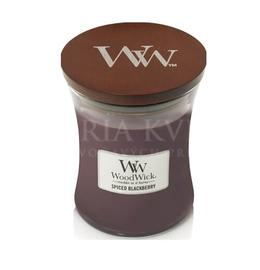 Candle Woodwick® Medium Jar Spiced Blaskberry