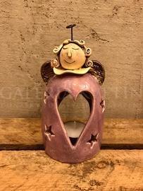 Candlestick angel violet