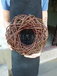 Wicker wreath