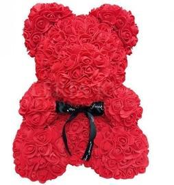 Rose Teddy Bear - Red