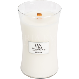 Candle Woodwick®  big jar White Teak