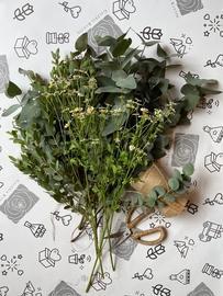 Eucalyptus + tanacetum