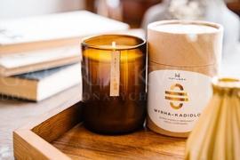 Candle Hatussa Myrha - Incense
