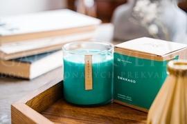 Candle Hatussa smaragd