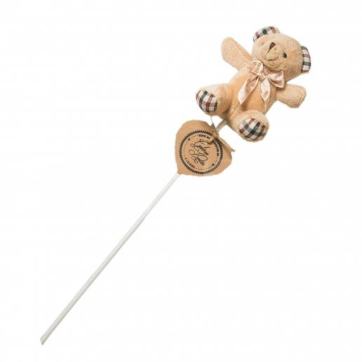 Impaler decoration - Teddy in brown