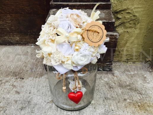 Frabric bouquet Glamour