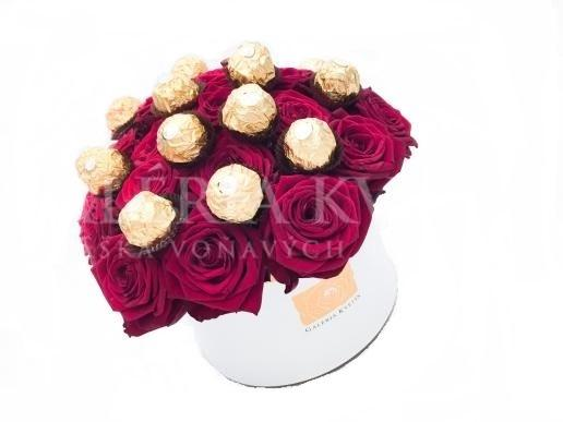 Flower Box SWEET FERRERO GRAND