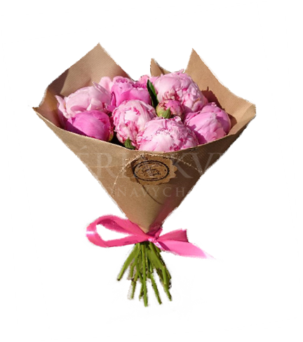 Bouquet Kiss of Peonies