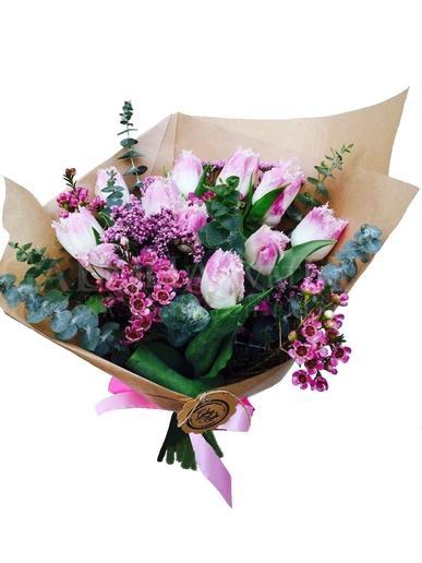 Bouquet Romantic Joy of Tulips