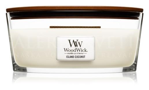 Candle Woodwick® Heartwick Island Coconut