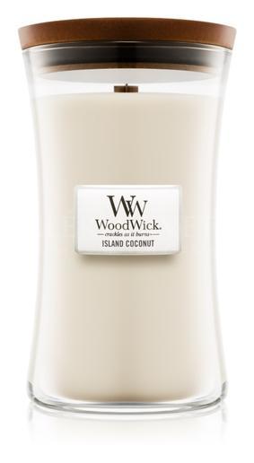 Candle Woodwick® Large Jar Island Coconut