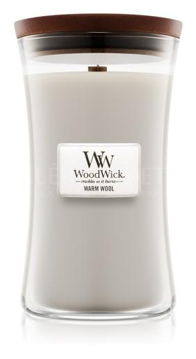 Candle Woodwick® Large Jar Warm Wool