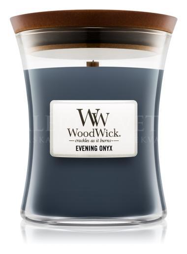 Candle Woodwick® Medium Jar Evening Onyx