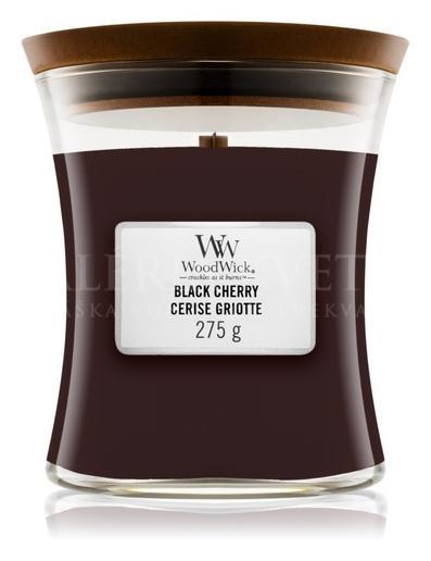 Candle Woodwick® Medium Jar Black Cherry
