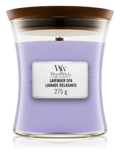 Candle Woodwick® Medium Jar Lavender Spa