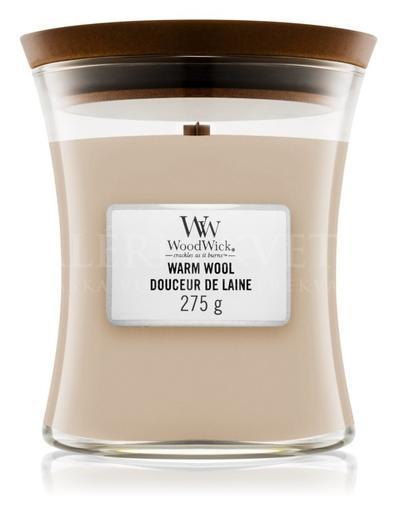 Candle Woodwick® Medium Jar Warm Wool