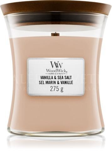 Candle Woodwick® Medium Jar Vanilla Sea Salt