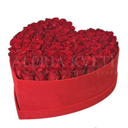 Flower Box Heart GRAND