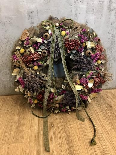Wreath in Nature Boho style