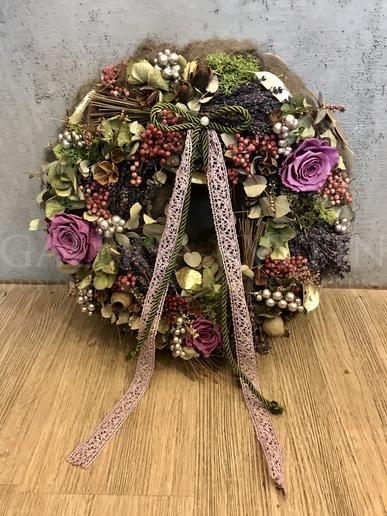Wreath in Boho style