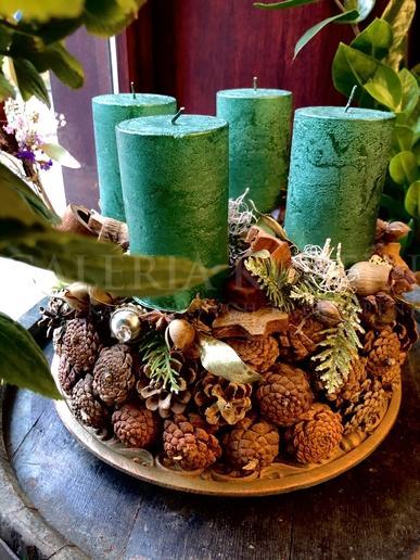 Advent wreath Green