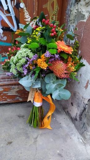 Wedding bouquet Botanical